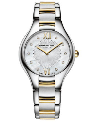RAYMOND WEILl Geneve Two tone Ladies Luxury Watch
