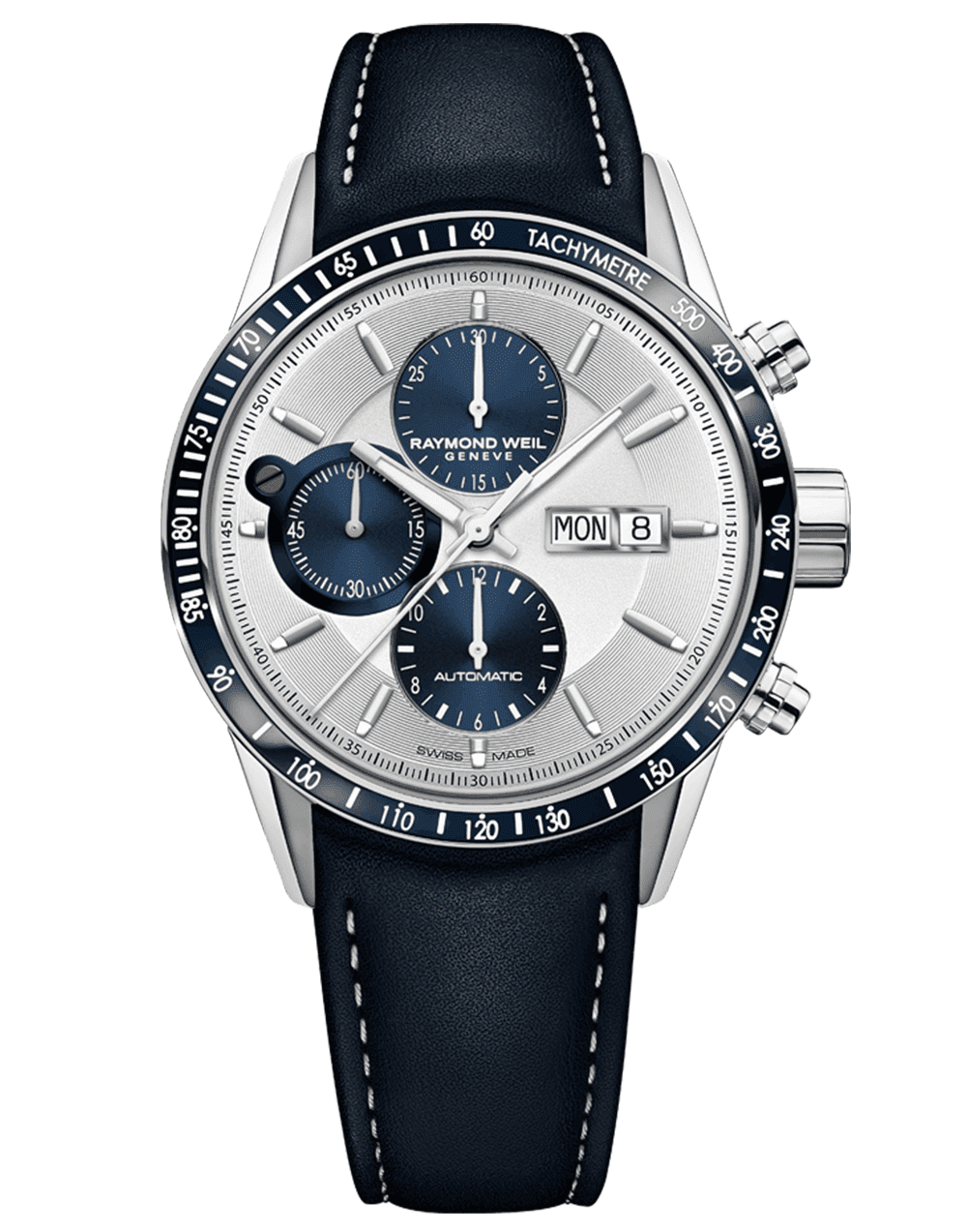 RAYMOND WEIL Men's Freelancer Chronograph Luxury Swiss Watch