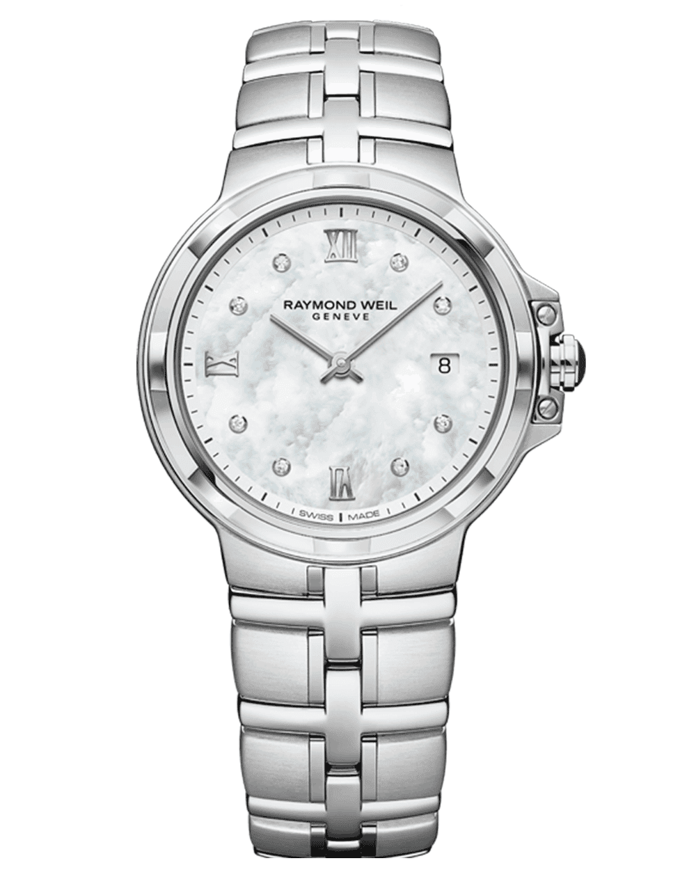 RAYMOND WEIL Geneve Mother of Pearl DIal Ladies Luxury Watch
