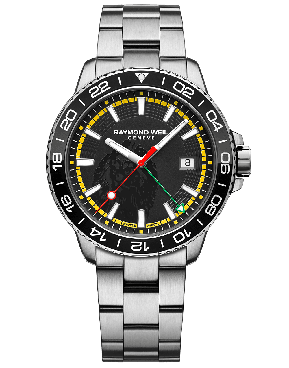RAYMOND WEIL Men's Tango GMT Bob Marley Limited Edition Luxury Swiss Watch