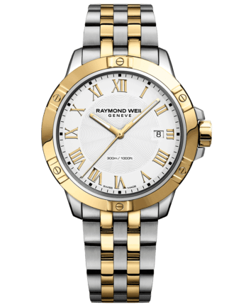 RAYMOND WEIL Men's Tango Two-tone Luxury Swiss Watch