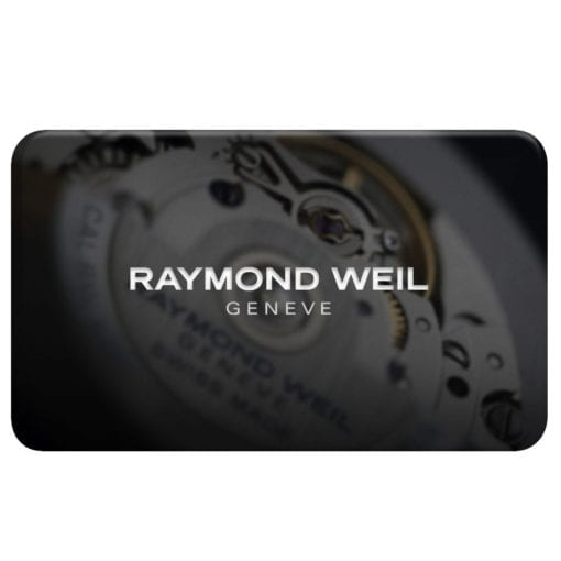 Sample of a gift card.