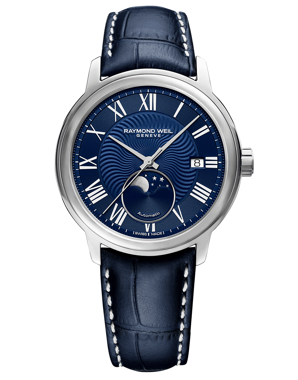 RAYMOND WEIL Men's Maestro Moon Phase Luxury Swiss Watch