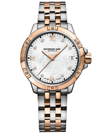 RAYMOND WEIL two-tone rose gold tango quartz watch